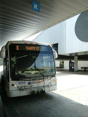 A StarMetro bus.