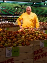 Price Chopper CEO Craig Moore at the chain's newly