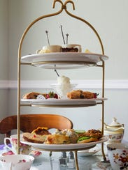Wisteria Tea Room specializes in high tea, but also offers an array of other options.