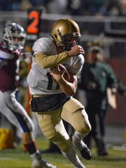 York Catholic quarterback Dan Yokemick will continue