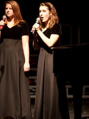 "Rebecca Ihnen and Tori Gedler perform the song ""This"