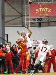 Oklahoma State Cowboys wide receiver Marcell Ateman