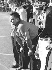 """Dee Andros was coach of the 1967 """"Giant Killers"""" team."""