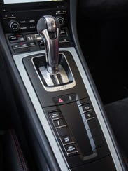 Our test model GT3 featured Porsche's wildly quick PDK automatic transmission, but the car also is available with a 6-speed manual as an option — which is the way to go with this highly analog machine.