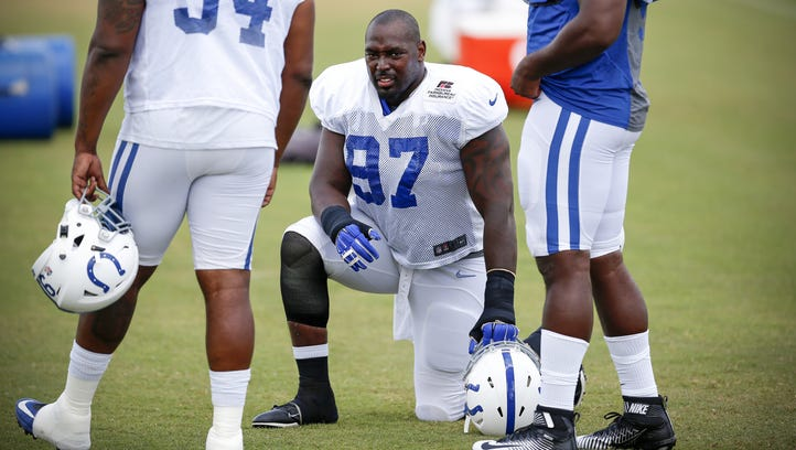Colts release DL Art Jones