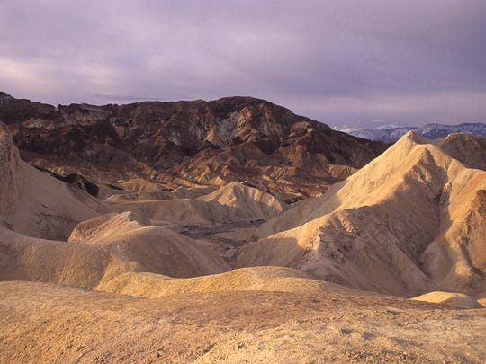 "Scenes from the original ""Star Wars"" movies were filmed at Death Valley."