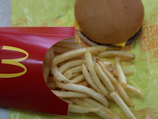 McDonald's November Sales Down Lower Than Expected