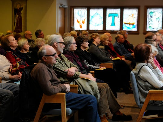 About 100 people attended Sunday's Port Clinton Musical Arts Series at Firelands Presbyterian Church on E. Harbor Road in Portage Township.