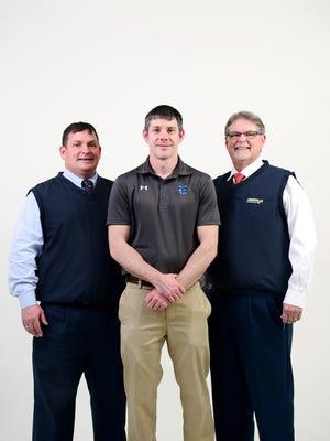 Enka wrestling coach Mark Harris, Asheville Chevrolet Coach of the Month.