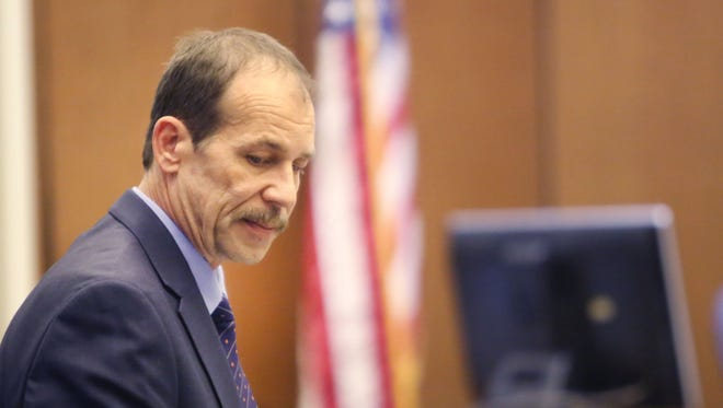 Theodore Wafer, 55, of Dearborn Heights, Mich., was found guilty Thursday, Aug. 7, 2014, of second-degree murder, manslaughter and felony firearm use in the shooting death of Renisha McBride on his porch Nov. 2, 2013.