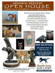 Thunder Horse Gallery Memorial Weekend open house