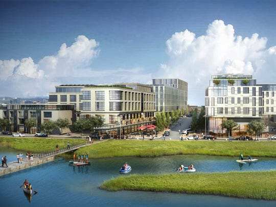 Twining Properties' plans include at least three acres of green space and a boat launch.