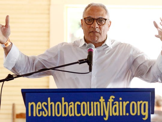 Former Democratic U.S. Rep. Mike Espy, a candidate