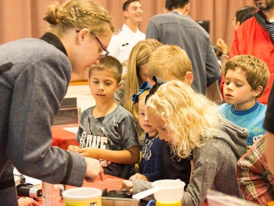 Families of all ages enjoy the Lexington Science Festival