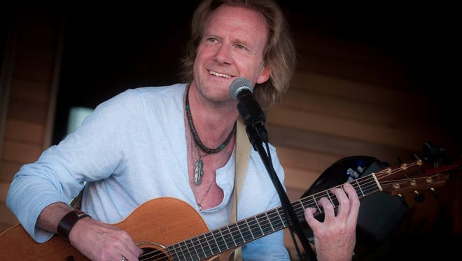 Rupert Wates plays a house-style concert June 21 at Lost Moth gallery in Egg Harbor.