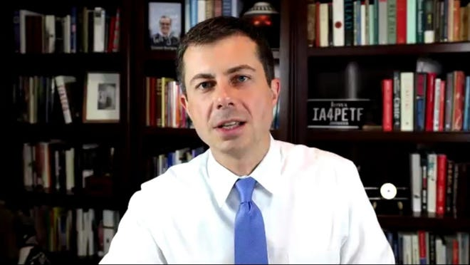 Former presidential candidate Pete Buttigieg spoke to Ohio Democrats on Thursday evening, urging them to rally behind his one-time opponent for the party's nomination, Joe Biden.
