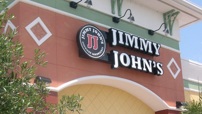 Jimmy John's, the Illinois-based chain that specializes in sandwiches.