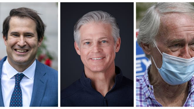 Seth Moulton, Kevin O'Connor and Ed Markey got the support of Danvers voters in the 2020 state primary.