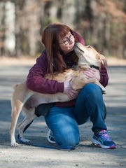 'Animals can take your stress away and give you unconditional love in return,' says Jennifer Bailey of the Voorhees Animal Orphanage. 'It's a very rewarding experience.'