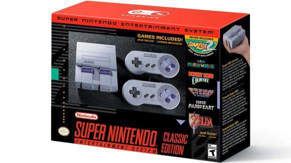 The Super NES Classic.