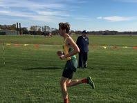 York-area runner finishes district meet on broken leg - helping team get to states