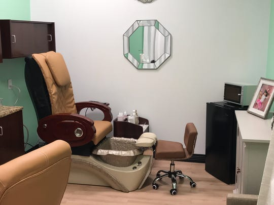 Nails by Nichole is located inside My Salon Suite. The private suite offers a sense of privacy for Herrera's customers. The salon will debut Feb. 1, 2018.