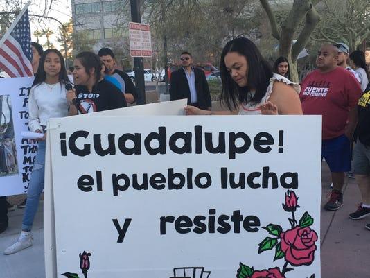 Puente protest