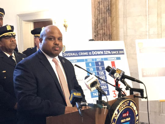 Mount Vernon Police Commissioner Shawn Harris discussed
