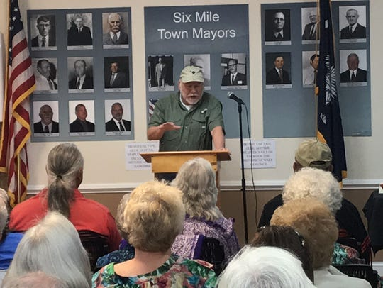 Pickens historian Dennis Chastain talks about the significance
