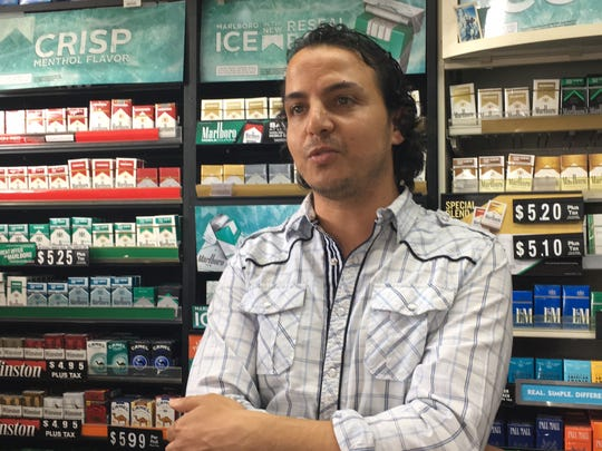 Owner Hany Geriss said he heard several shots in a row outside JD's Market, and he ran out to see if anyone had been hurt after a drive-by shooting Wednesday after shots were fired in the intersection of East Vine and South Maney in Murfreesboro.