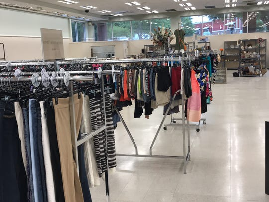 Clothing on sale at the Dream Center's new Resale Store