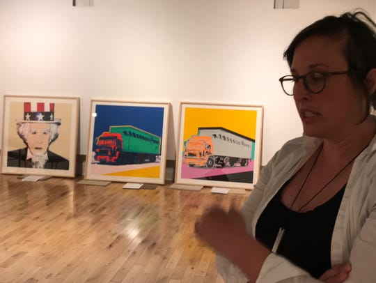 Amy Bowman-McElhone, Pensacola Museum of Art director,