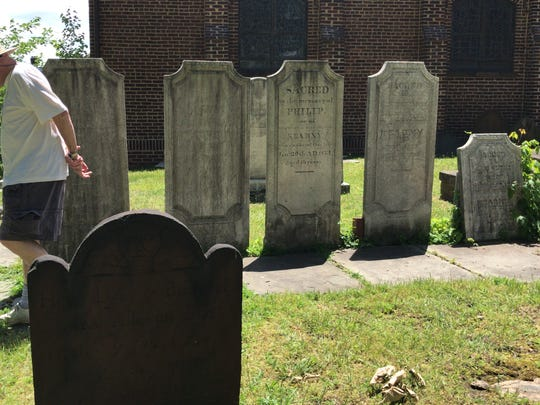 Meet some of Rockaway's most famous residents buried in the First Presbyterian Church on Saturday.
