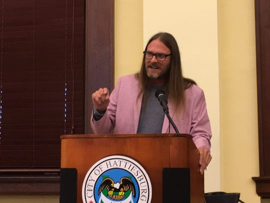 Hattiesburg activist Greg Prine said marijuana decriminalization