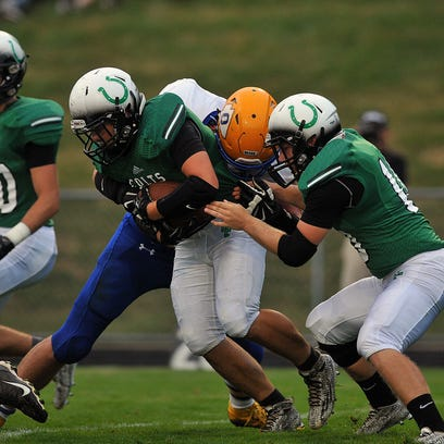 September 4th, 2015 Football:  Ontario at Clear Fork