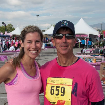 Daughter and father team Drandi Griggs and Gary Landa