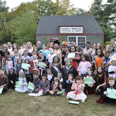 The Woodbridge Zombie and Vampire Parade and Ghost