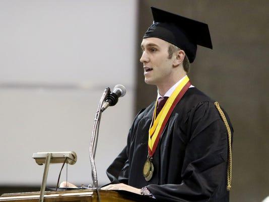 '18 Midwestern State University Spring Graduation