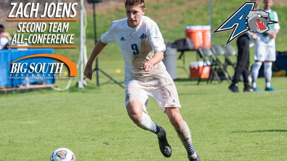Asheville High alum Zach Joens just completed his junior season for the UNC Asheville men's soccer team.