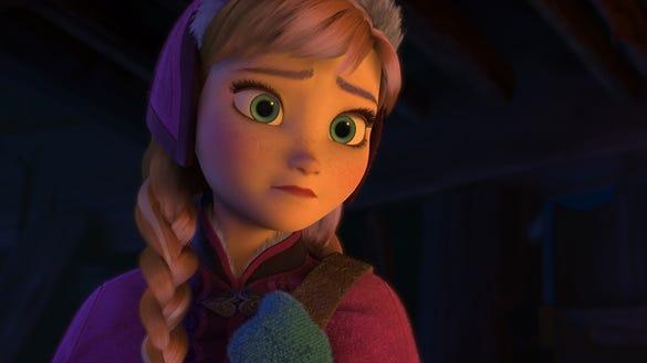 Anna in 'Frozen'