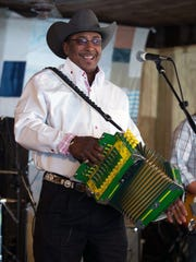 Leroy Thomas and the Zydeco Roadrunners play Saturday at Le Grand Hoorah.