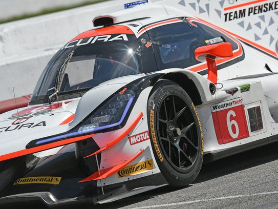 Acura Team Penske took first and second place at the