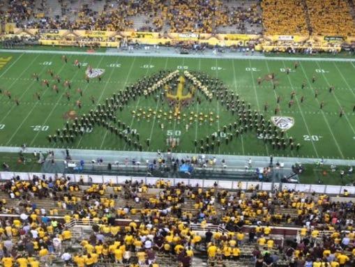 ASU marching band