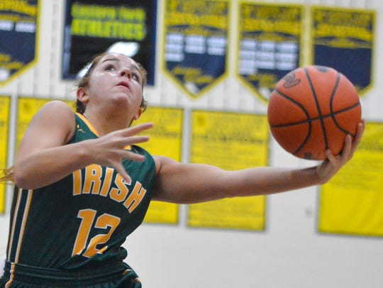 Kate Bauhof of York Catholic led the Y-A League in