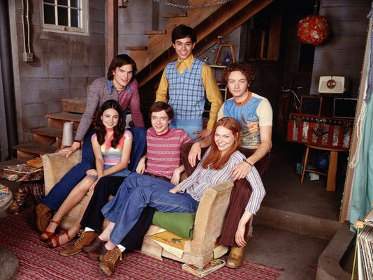 that 70s show teens became busy adults
