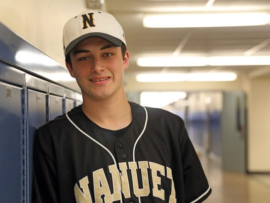 James Bilick, who is Rockland Scholar-Athlete was photographed