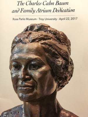 The Rosa Parks Museum's atrium now bears the name of a Montgomery family: Charles Cahn Baum and the Baum family.