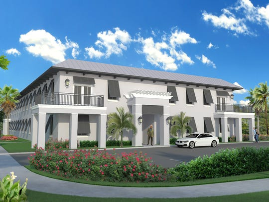 Rendering of the soon-to-open Senior Life Services headquarters at 1117 18th Place in Vero Beach.