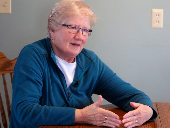 Carol St.John of Allouez describes being at the Ice