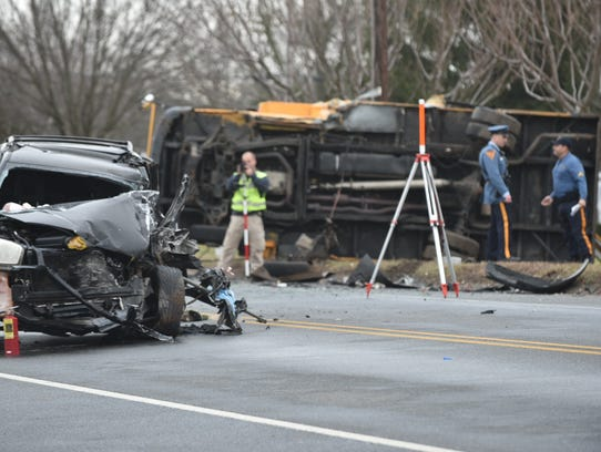 Motorist Dead 4 Students Hurt In South Jersey School Bus